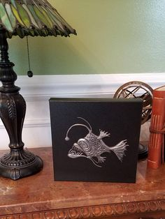 Purple Angler Fish By Whimsicalmetal On Etsy Art Pinterest - Anglerfish chair with a big lamp
