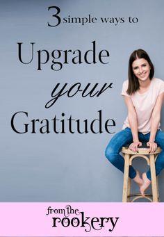 Upgrade your Gratitude