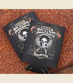 LOCKED AND RELOADED KOOZIE - Miranda lambert & dierks Bentley tour art. . Junk GYpSy co.