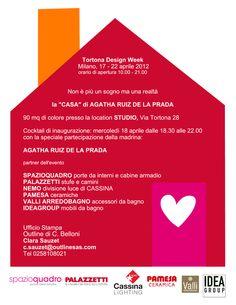 """Salone Mobile Milano 2012: """"La casa di Agatha Ruiz de la Prada"""""""