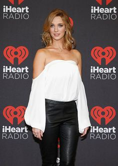 Actress Yael Grobglas attends the 2016 iHeartRadio Music Festival at TMobile Arena on September 23 2016 in Las Vegas Nevada