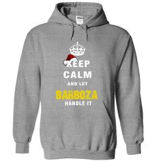 "[Hot tshirt name creator] Keep Calm And Let BARBOZA Handle It  Teeshirt this month  If you dont like this shirt no problem you can search another shirt at ""SEARCH BOX"" on the TOP  Tshirt Guys Lady Hodie  SHARE and Get Discount Today Order now before we SELL OUT  Camping a vest thing you wouldnt understand tshirt hoodie hoodies year name birthday calm and let barboza handle it keep calm and let"