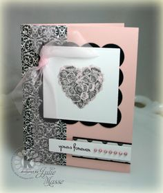 Yours Forever by Julie Masse - Kitchen Sink Stamps
