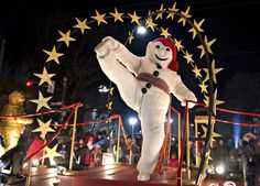 Bonhomme Carnaval dances during the Quebec Winter Carnival night parade in Quebec City, Feb. Canada, Quebec Winter Carnival, Path To Citizenship, French Resources, Winter Festival, Quebec City, France, Arts And Entertainment, Best Cities