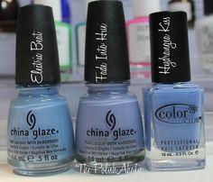 Spring 2013 Comparisons: OPI, China Glaze, Zoya