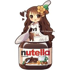 anime nutella - Google Search | Anime | Pinterest ❤ liked on Polyvore featuring anime, drawings, fillers and pictures