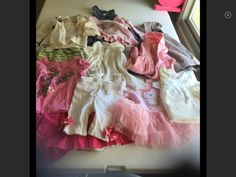 Fancy baby Girl 3-9M Lot Bundle 13 Pieces #Mixed #DressyEveryday