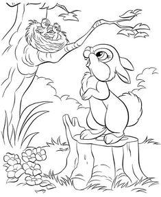 disney bunnies coloring page