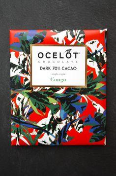 OCELOT, organic chocolate brand from Scotland, Edinburgh.