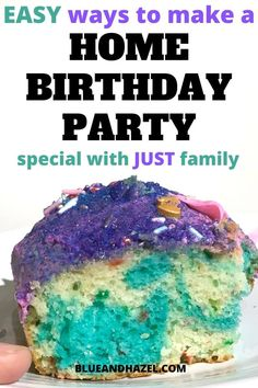 Having a home birthday party with kids and need ideas for making it feel special? See how to make your kids feel loved and make some DIY decorations! Birthday Party At Home, Diy Birthday, Birthday Party Themes, Preschool Birthday, Birthday Ideas, Singing Happy Birthday, Happy Birthday Banners, Birthday Decorations, Birthday Questions