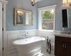 cuartos de baño con revestimiento de madera - Buscar con Google