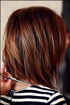 Most Beloved Layered Bob Styles Bob Hairstyles 2015 - Short Hairstyles for Women Dark Auburn Hair, Hair Color Auburn, Short Auburn Hair, Auburn Bob, Dark Hair, Blonde Hair, Brown Hair, Layered Bob Hairstyles, 2015 Hairstyles