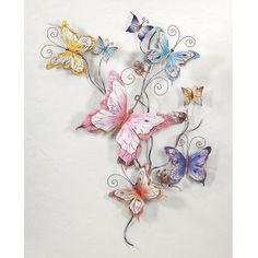 Butterflies in Flight Wall Art - Furniture, Home Decor and Home Furnishings, Home Accessories and Gifts | Expressions