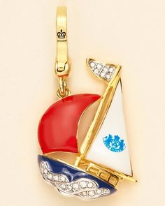 juicy couture charm -Sailboat Charm