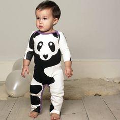 panda sleepsuit by floppy-buddha | notonthehighstreet.com