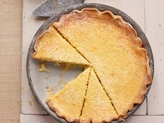 Buttermilk Pie from FoodNetwork.com