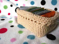 Rectangular Basket: free #crochet pattern