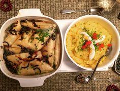 Maultaschen in der Brühe mit Kartoffelsalat #leibgericht #schwäbisch
