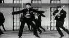 Elvis Presley - Jailhouse Rock (Music Video), via YouTube.