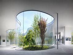 Bringing the outside in: Hiroshi Senju Museum by Ryue Nishizawa.