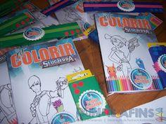 Kit Colorir personalizados no tema #slugterra