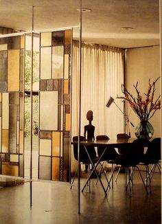sliding glass room dividers in home office | the sliding door co