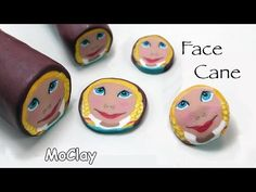 DIY Craft CDs recycling - Easy necklace - Polymer clay tutorial - YouTube