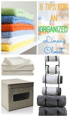 Linen closets are one of the most overlooked storage spaces in a home. If you groan every time you think about changing the sheets because you don't want to go into your linen closet and hunt for things, then it's time to get yourself organized! Organizing your closets will give you just that much more space, allow you to keep inventory of your linens and rotate them to get the most use out of them. Read on as eBay shares eight tips to get your closets organized.