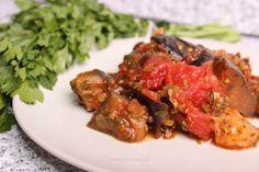 Vinete cu roșii Tandoori Chicken, Beef, Ethnic Recipes, Cat, Food, Meal, Essen, Hoods, Ox