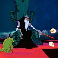 Not sure if Ralph Bakshi's Wizards counts as horror per se. But everyone should see it.