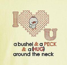 Bushel & A Peck Tshirt by stitchcottage on Etsy