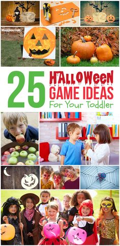 25 Fun Halloween Game Ideas For Your Toddler