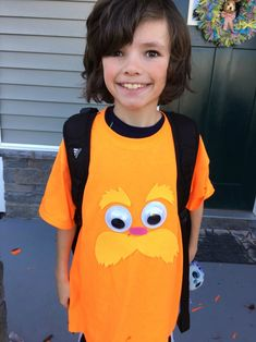 The lorax costume read across americadr seuss pinterest seuss t shirt ideas including the lorax sneetches and a wocket in my pocket solutioingenieria Image collections