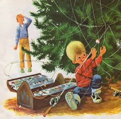 Tommy's Camping Adventure. Near Mint Condition. Little Golden Book.1971