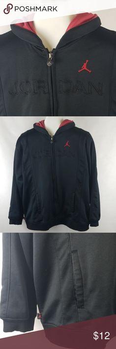 b8ca65f02087d3 Air Jordan Hoodie Zip hooded Sweatshirt Boys Large This is an oversided boys  Large hoodie -