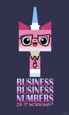 The LEGO Movie  Uni-Kitty Business Numbers Quote