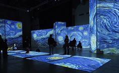 Van Gogh. Instalación multimedia. FLorencia