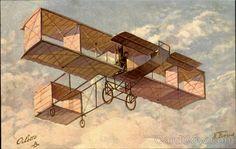 Voisin Aeroplane Tuck's Oilette Series Aircraft