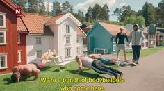 Where body builders go to make themselves look bigger
