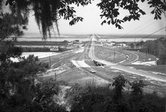 The Causeway between Mobile and Spanish Fort, Alabama.