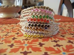 Wish Bead Bracelets.  Use different colored beads to represent special events....Birthdays ect.