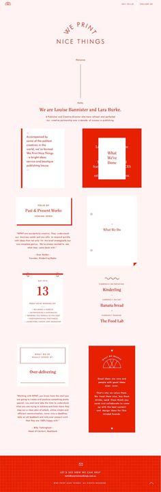 We Print Nice Things.: