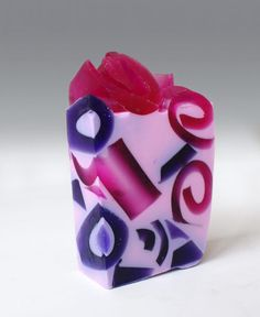 Hydrangea: Beautiful handmade natural glycerin soap with a coconut base, scented with fragrance oils.