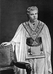 Anne Bensant was a prominent British socialist, theosophist, women's rights activist, writer, orator and supporter of Irish and Indian self-rule freemason woman in mixed Lodges