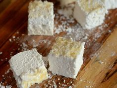 Coconut Marshmallows | Baking Bites