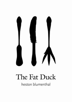 Els coberts son fets especialment per a ells a The Fat Duck Fat Duck Restaurant, Logo Restaurant, Heston Blumenthal Food, What The Duck, The Fat Duck, Duck Logo, Good Dates, Cool Logo, Fat Burning