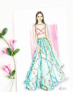 How to Draw a Fashionable Dress - Drawing On Demand Dress Design Drawing, Dress Design Sketches, Fashion Design Sketchbook, Dress Drawing, Fashion Design Drawings, Fashion Sketches, Wedding Dress Sketches, Fashion Design Portfolio, Drawing Style