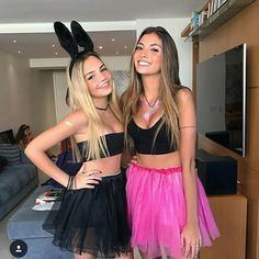 Bunny Halloween Costume, Rabbit Halloween, Halloween Outfits, Fantasias Halloween, Goddess Costume, Cute Costumes, Halloween Disfraces, Festival Looks, Festival Outfits