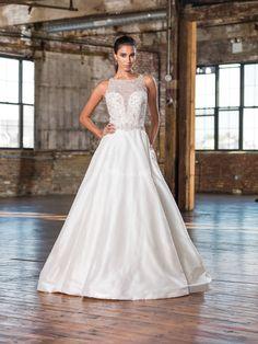 25 vestidos de novia de corte princesa que querrás llevar en tu boda