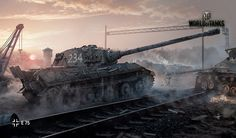 World of Tanks is a Massively Multyplayer Online Game Free to Play dedicated to the armored vehicles of the period between World War I and the Cold War period. The graphic level of the different… Continue Reading World of Tanks World Of Tanks Game, Tank Wallpaper, Wallpaper Art, Tiger Ii, War Thunder, Tiger Tank, Ww2 Tanks, Cool Tanks, Battle Tank
